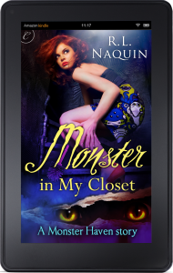 Monster in My Closet displayed on an Amazon Kindle Fire
