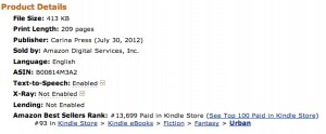 How cool is that? Top 100, baby!