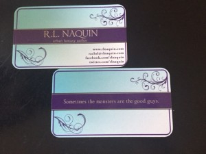 Front and back of my new business cards. What do you think?